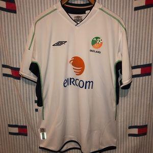 Umbro Ireland soccer jersey